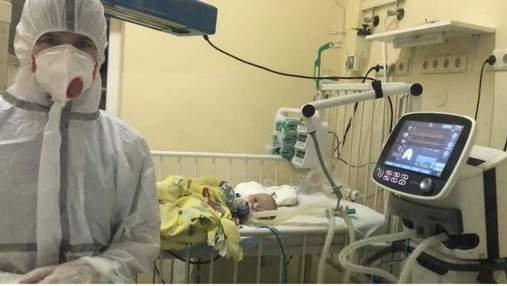 Львівські лікарі рятують 3-місячне немовля з COVID-19: дитина – у вкрай важкому стані
