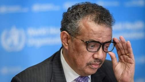 Глава ВОЗ назвал инструменты для преодоления коронавируса