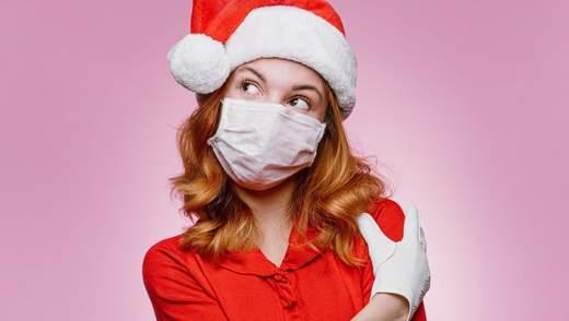Как быть здоровым и стильным: 15 примеров защитных масок с праздничным декором