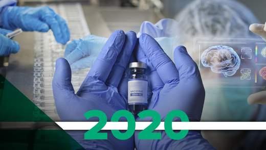 Найважливіші відкриття в медицині у 2020 році